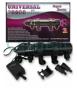 Lámpara germicida AquaZonic UV universal 18 W