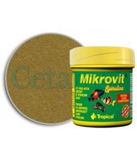 Mikrovit Spirulina 75ml, Tropical