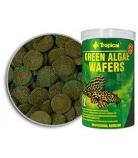 Green Algae Wafers (Obleas de Spirulina) 100 ml, Tropical
