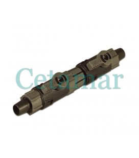 Llave doble Connettor Tap 9/12, Eheim