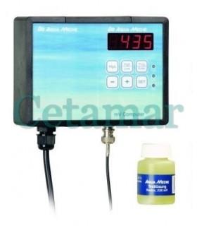 Mv Computer Redox con electrodo y líquido de calibración, Aquamedic