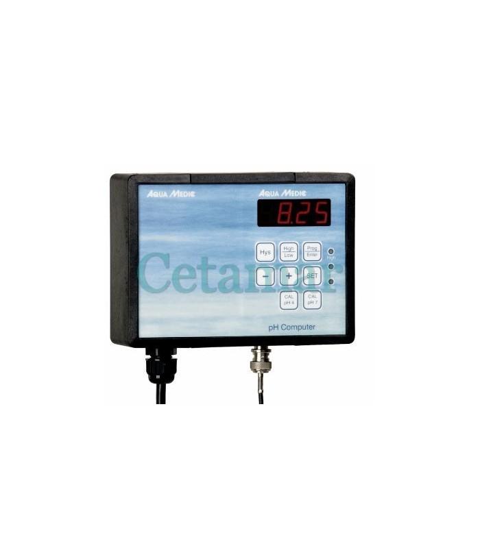 pH Computer con electrodo y líquidos de calibración