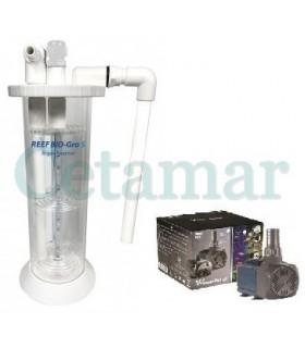Bio-Gro Reactor de macroalgas con bomba V2 Powerpum 1300