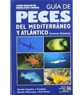 Guía de peces del Mediterráneo y Atlántico, Helmut Debelius