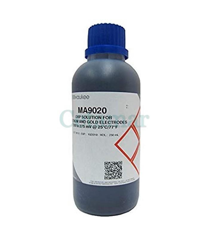 Solucion calibración Redox ORP MA9020, Milwaukee (Cantidad: 230 ml)