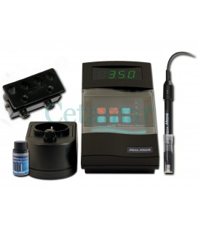 Mv Computer Redox con electrodo y líquido de calibración, Aquamedic Ocasión