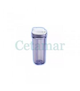 Vaso transparente ósmosis