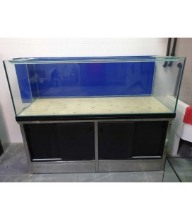 Acuario marino 180x75x65 cms con mesa y sumidero