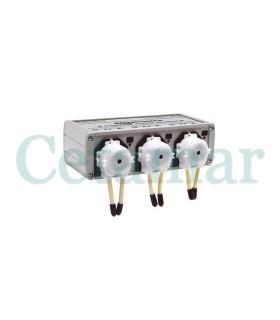 Bomba dosificadora 3 canales ACQ450, Aquatronica