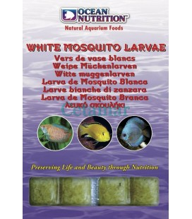 White mosquito larve, Ocean Nutrition