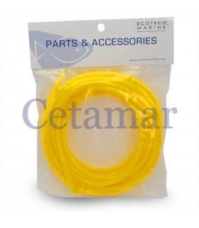 Tubería de poliuretano amarilla para Versa, Ecotech Marine