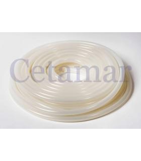 Tubo silicona pura 4/6 mm para peristáltica (metro), Hobby