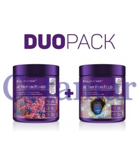 Duo Pack Protein Power + Tiny Fish Feed, Aquaforest