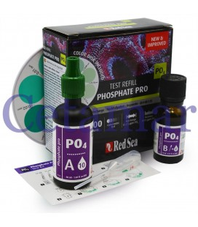 Test Kit Fosfato Pro Repuesto Refill Red Sea