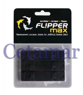 Cuchilla de recambio ABS Flipper Max 3 unidades