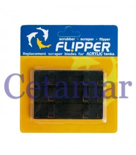 Cuchilla de recambio ABS Flipper 3 unidades