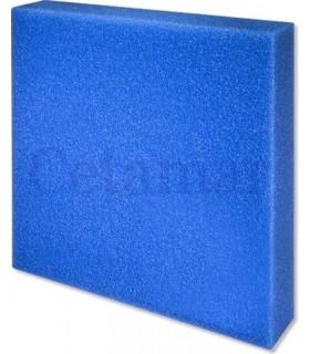 Esponja Foamex 50x50x5 cms poro fino azul