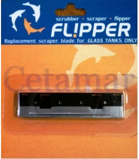 Cuchilla de recambio acero inox Flipper