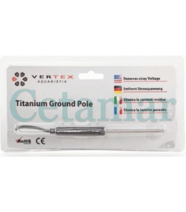 Sonda de titanio Ground Pole Vertex