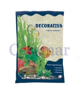 Arena de Coral Natural Decorativa 1.5-3 mm (Cantidad: 4kg)
