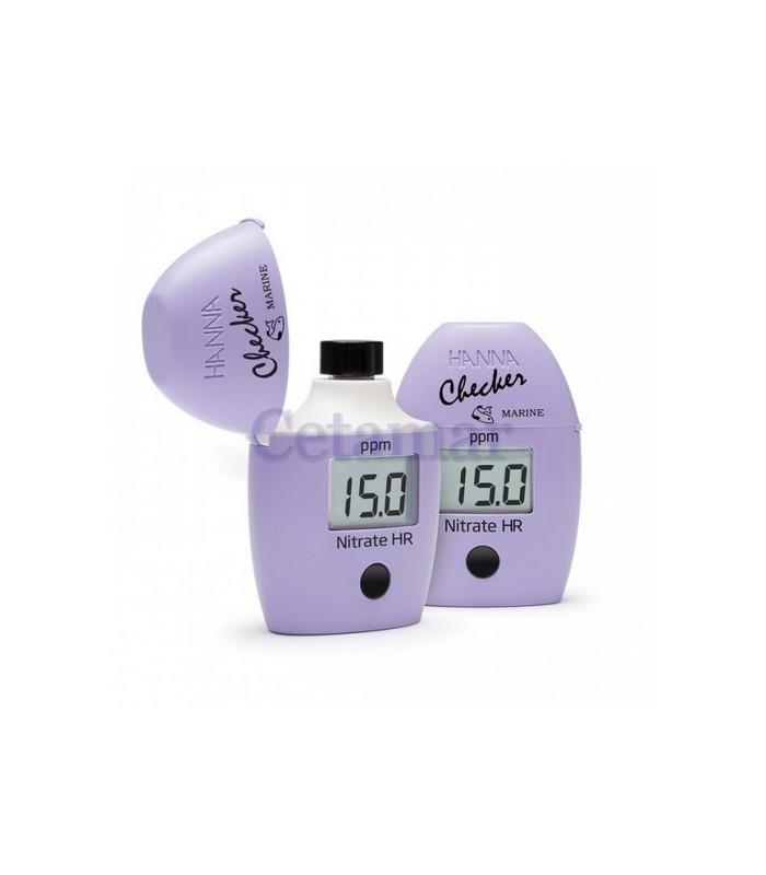 Checker de Nitratos rango alto para Agua Marina 0.0-75.0ppm, HANNA instruments