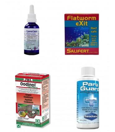 Medicamentos especies marinas